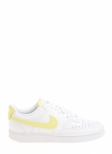 Nike Kadın Beyaz Sneakers CD5434 - 109 Wmns Court Vision Beyaz
